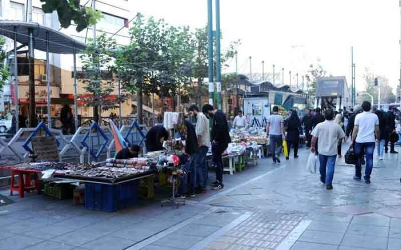 تهران چند دستفروش دارد؟
