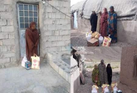 چنانچه پیرو مکتب علی(ع) هستید این طور به کسی کمک نکنید! معصومیت و سرهای پایین این دختران سیل زده بلوچ برای یک حلب روغن و یک کیسه برنج! برای عکس گرفتن و گزارش عملکرد به کسی کمک نکنید!
