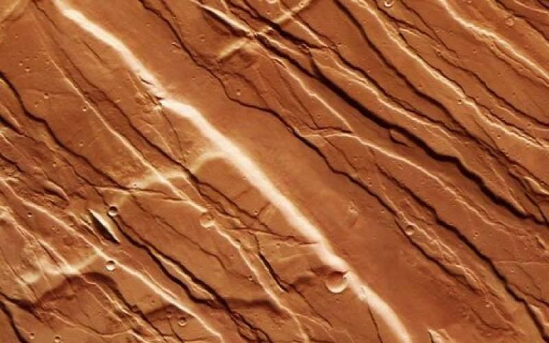 ناحیهای در مریخ که نگاه به آن توهمزا است