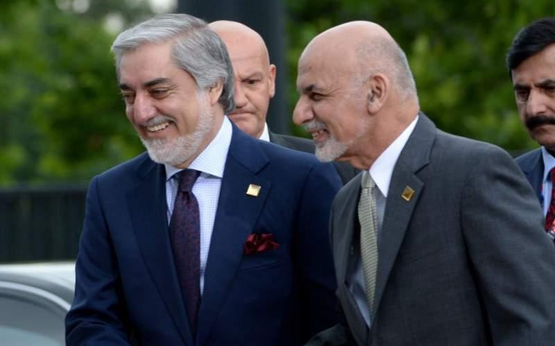 اشرف غنی و عبدالله توافق سیاسی امضا کردند