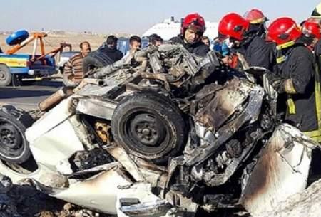 5 کشته در سانحه رانندگی در زاهدان