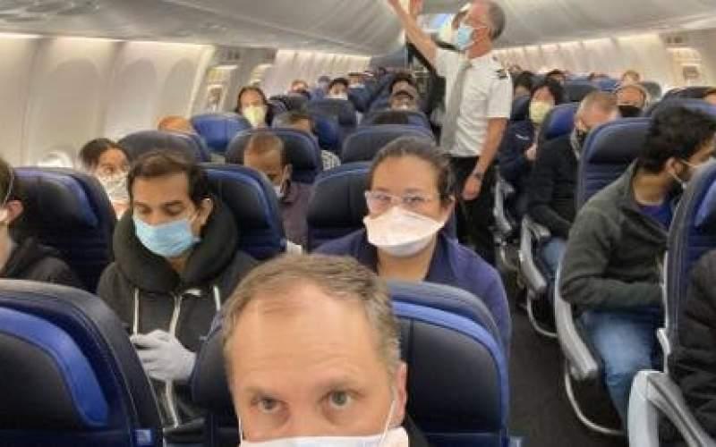 فاصله گذاری اجتماعی در هواپیما غیرممکن است