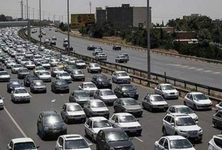 ترافیک سنگین در همه محورهای خروجیِ تهران