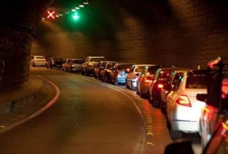 ترافیک سنگین در محورهای ورودی گیلان