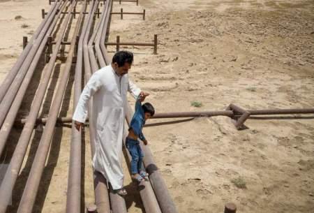 خوزستان تشنه است و در غبار گم؛ در پرآبترین استان کشور ما آب نداریم!