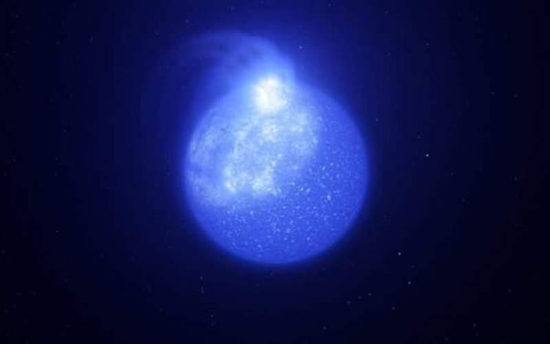 کشف لکههای بزرگ برروی سطح ستارههای بسیار داغ