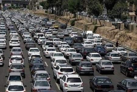 ترافیک سنگین در تمامی محورهای شمالی