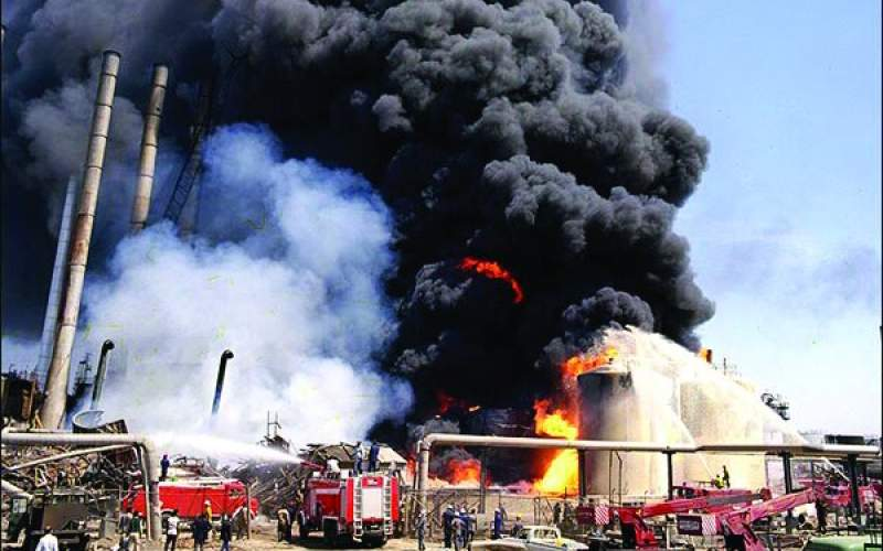 آتش در پالایشگاه تهران؛یکی از کارکنان فوت شد
