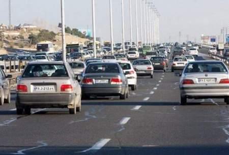 ترافیک پرحجم در خروجیهای مشهد