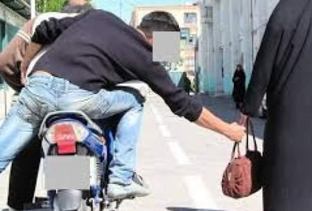 ۸۵ درصد زورگیریها توسط موتور سیکلتها است
