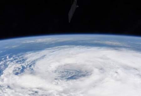 """تصاویر طوفان """"کریستوبال"""" از فضا"""