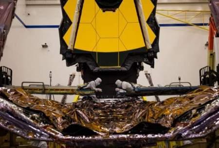 نصب یک بخش ضروری در تلسکوپ جدید ناسا