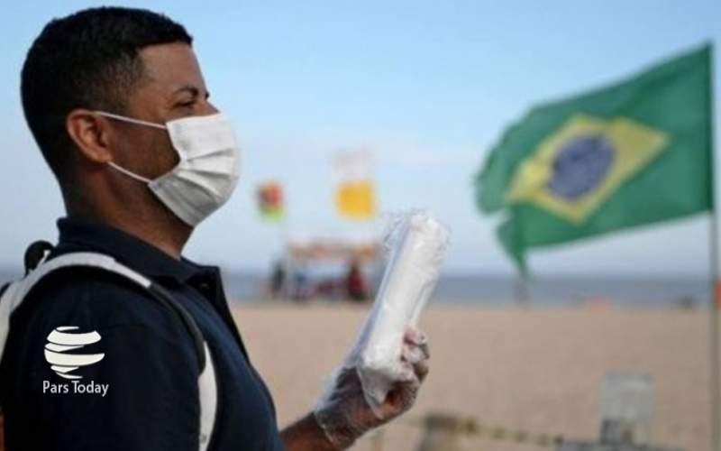 افزایش شمار مبتلایان و قربانیان کرونا در برزیل