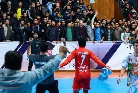حمله به هتتریک قهرمانی در لیگ برتر فوتسال