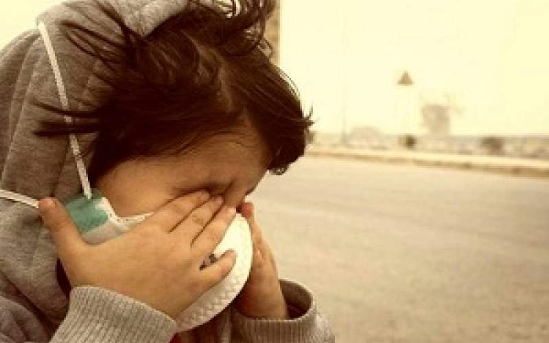 گرد و خاک آسمان خوزستان را فرا میگیرد