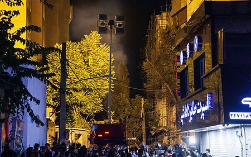 تصاویری از کلینیک سینا اطهر تهران پس از انفجار