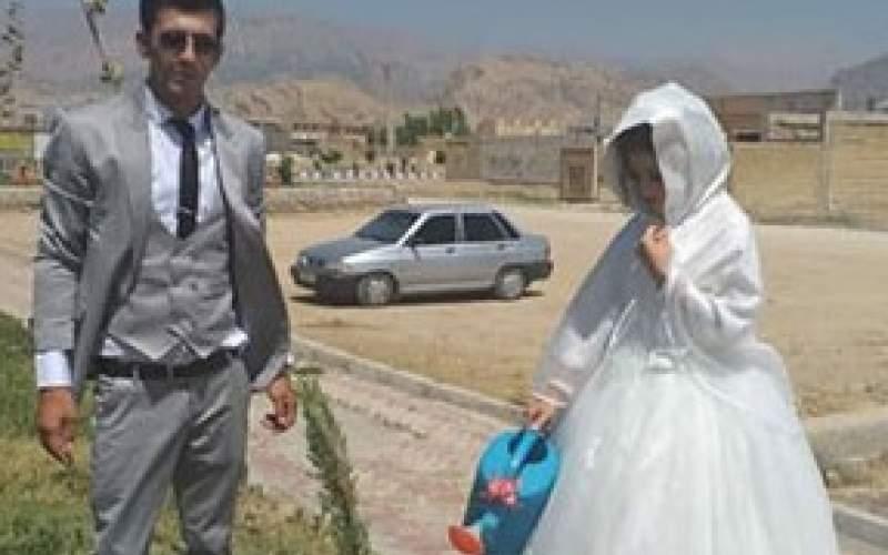 کاشت نهال به جای جشن عروسی/عکس