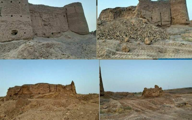 افول قلعه ۴۰۰ ساله صفویه در شهراب زواره