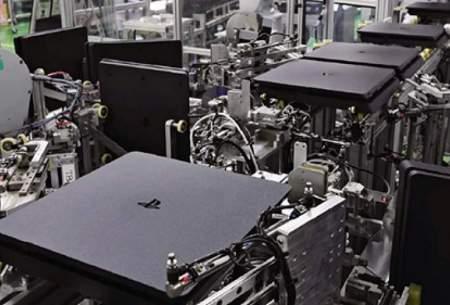 خط تولید حیرتانگیز سونی در ژاپن