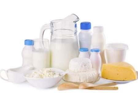 مصرف لبنیات هفتگی یا ماهانه شده است!