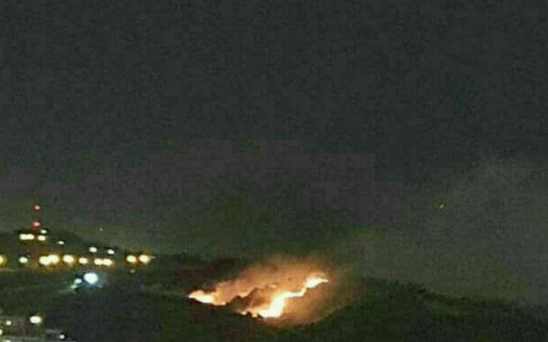جزئیات حادثه آتش سوزی جنگل شیان