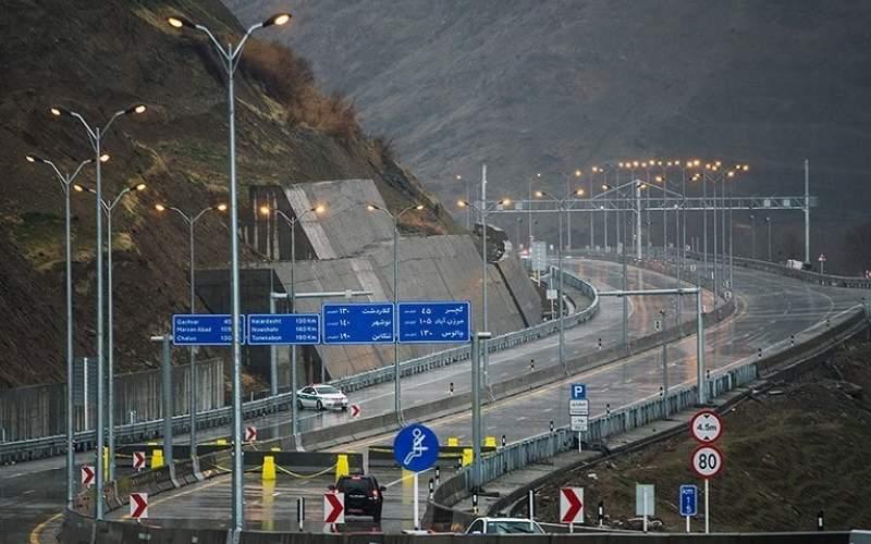 آزادراه تهران - شمال بازگشایی شد