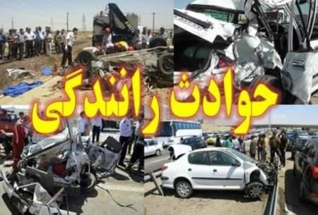 ۳ کشته و زخمی در حوادث رانندگی کرمانشاه
