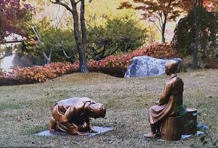 مناقشه بین ژاپن و کره جنوبی بر سر یك مجسمه