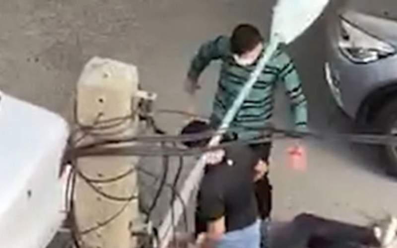 تیراندازی در سعادت آباد تهران به خاطر یک دختر