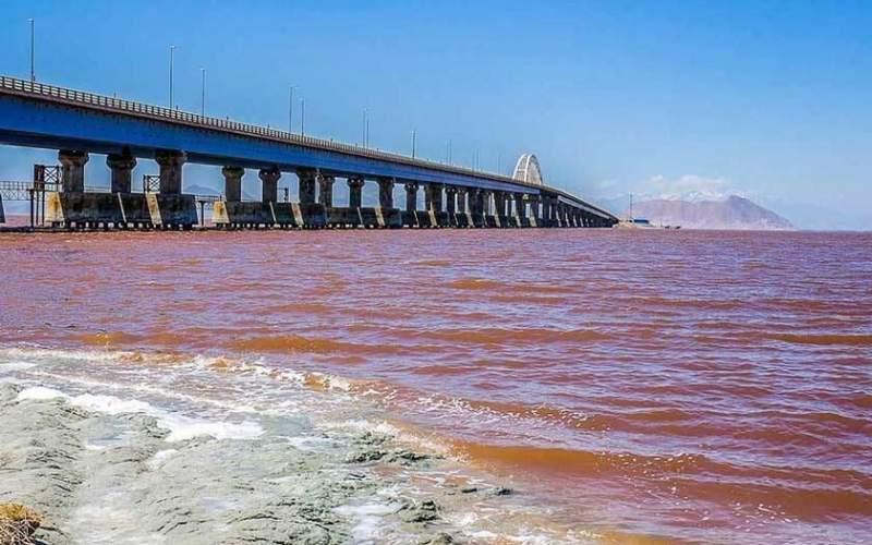 حجم آب دریاچه ارومیه ۸ برابر شد