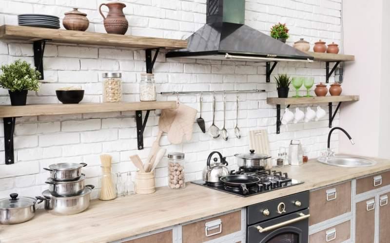 تمیز کردن آشپزخانه در کمترین زمان