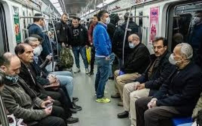 شاخص ۹۰ درصدی زدن ماسک در مترو