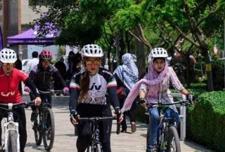 ممنوعیت دوچرخهسواری بانوان در مشهد