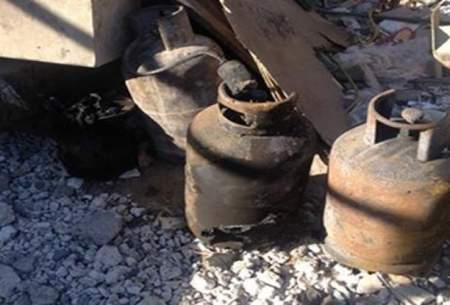 انفجار مرگبار کپسول گاز در کانکس