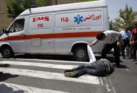 برخورد مرگبار آمبولانس با مرد ۷۰ ساله