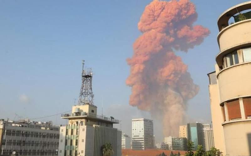 انفجار شدیدی بیروت  را لرزاند