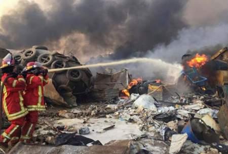 لبنان پس از انفجاروحشتناک بندر بیروت