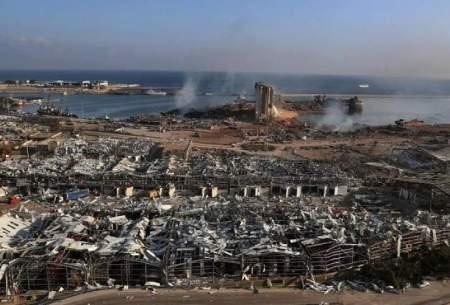 خرابیهای بیروت برابر با ویرانی ۱۵ سال جنگ داخلی