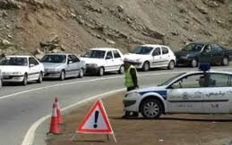 ترافیک نیمه سنگین در کرج-چالوس