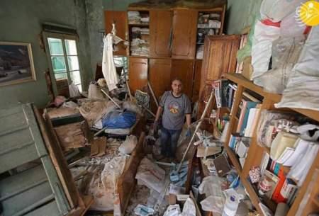 لبنانیها از خانه خراب خود نمیروند