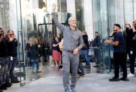 مدیرعامل اپل به جمع میلیادرها پیوست