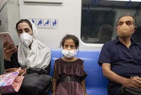 ورود بدون ماسک به مترو ممنوع