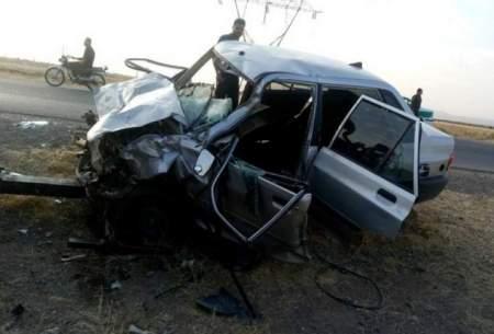 2کشته و 6 مصدوم در تصادف خونین تربت جام