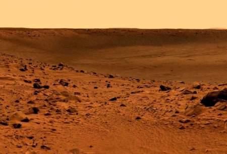 بارش باران در سیاره مریخ