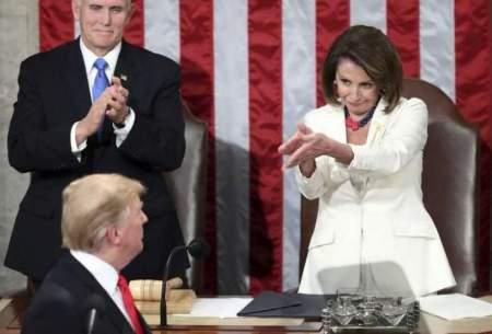 ترامپ: پلوسی دیوانه رئیسجمهور خواهد شد!