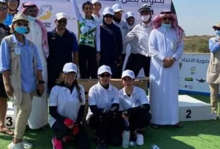دوچرخهسواری زنان برای اولین بار در عربستان