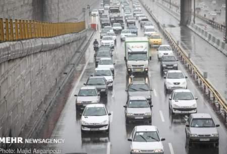 ترافیک سنگین دراغلبمحورهای منتهی به پایتخت