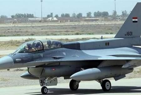 جنگندههای اف-۱۶ عراق در حال فروپاشی