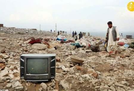 سیل مرگبار در پروان افغانستان