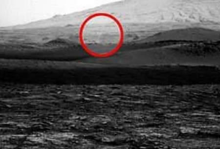 ثبت تصویر گرد و غبار شیطانی در مریخ